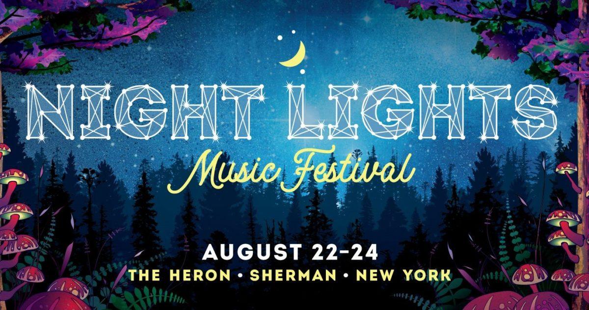 Night Lights Music Festival Logo 2019