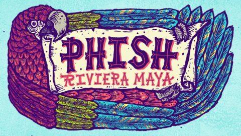 Phish Riviera Maya 2020 Logo