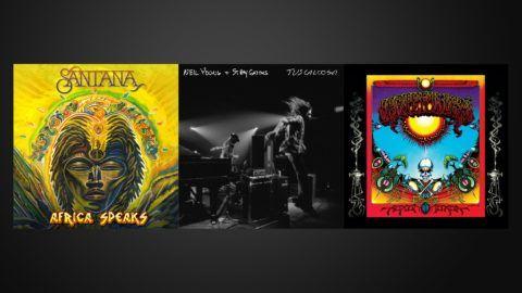 Santana Neil Young Grateful Dead Albums