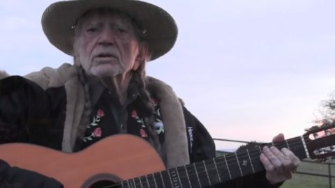 Willie Nelson Immigrant Eyes Video
