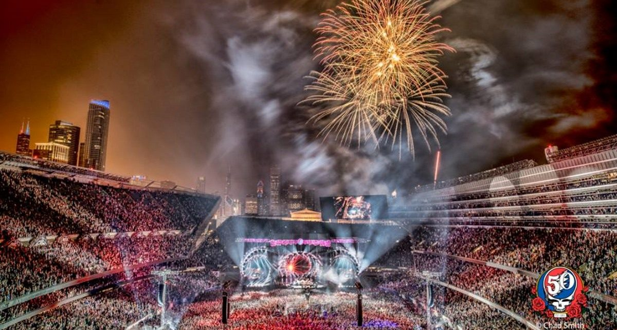 Grateful Dead Members & More Conclude 'Fare Thee Well' Run On This Date In 2015