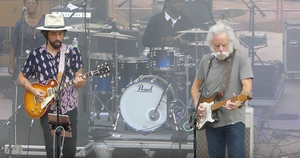 Bob Weir Guests With Jackie Greene At Red Rocks