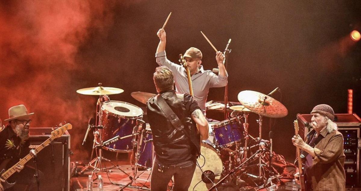 David Crosby, Jason Isbell & Amanda Shires Perform At Red Rocks