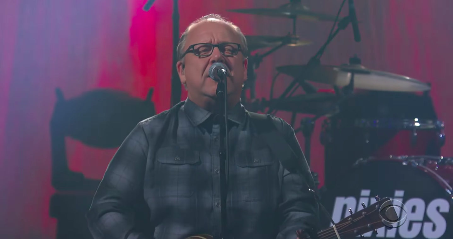 Pixies Perform 'Catfish Kate' On 'Colbert'