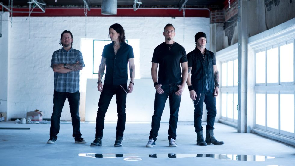 Alter Bridge and Clint Lowery