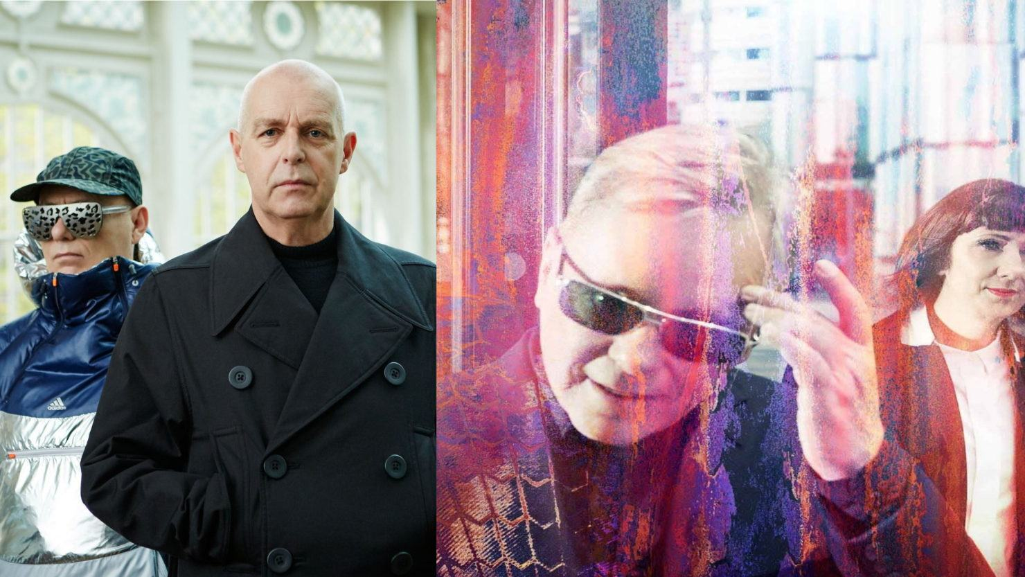 Resultado de imagen de Pet Shop Boys and New Order