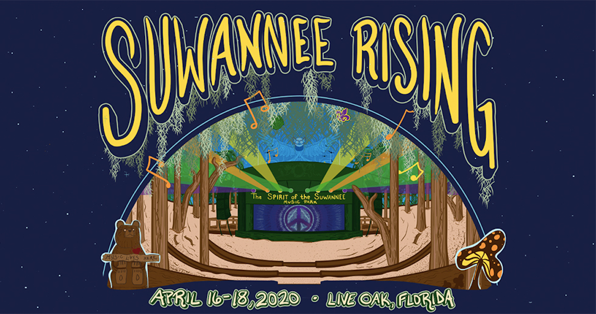 Spirit Of The Suwannee Christmas 2020 Suwannee Rising Announces 2020 Daily Lineup