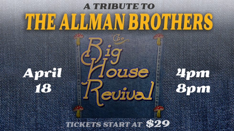 A Tribute to The Allman Brothers – The Big House Revival