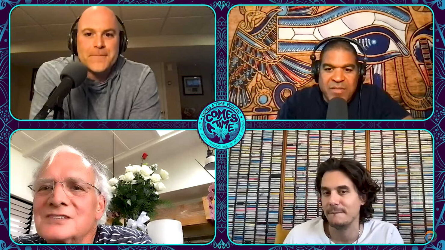 Dead & Company's John Mayer + Bill Kreutzmann Appear On 'Comes A Time' Podcast