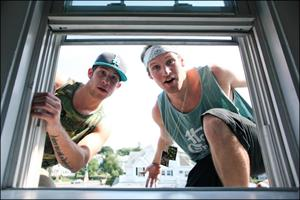 Aer and Handsome Pete