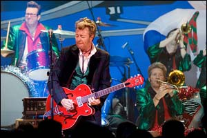 Brian Setzer Orchestra and Lara Hope And The Ark-Tones