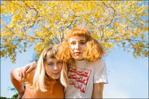 Girlpool and Hatchie