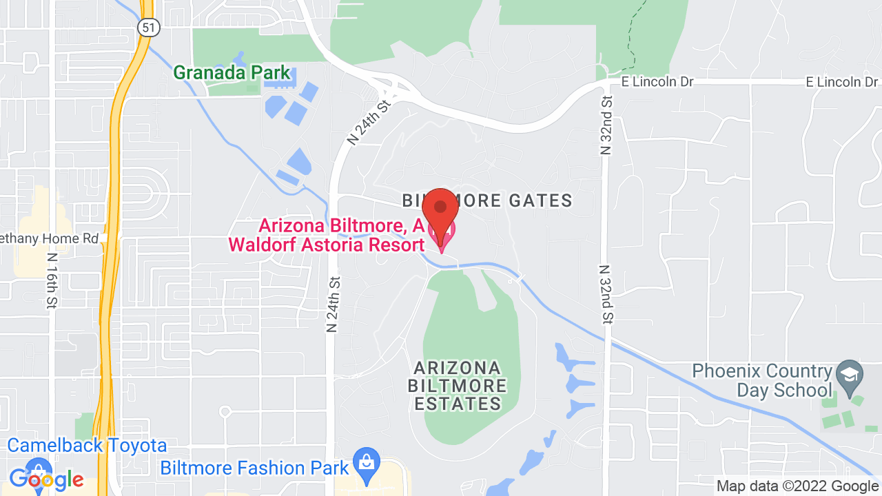 Arizona Biltmore - Shows, Tickets, Map, Directions