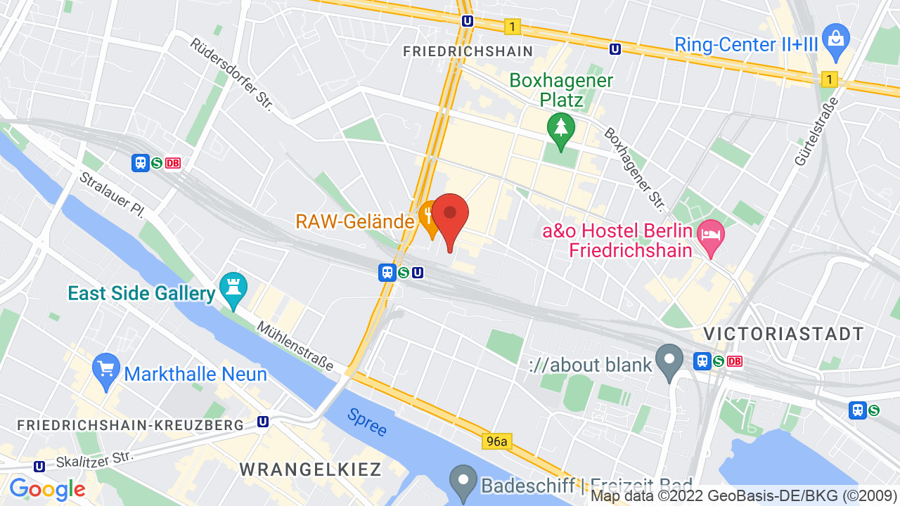 Map for Astra Kulturhaus