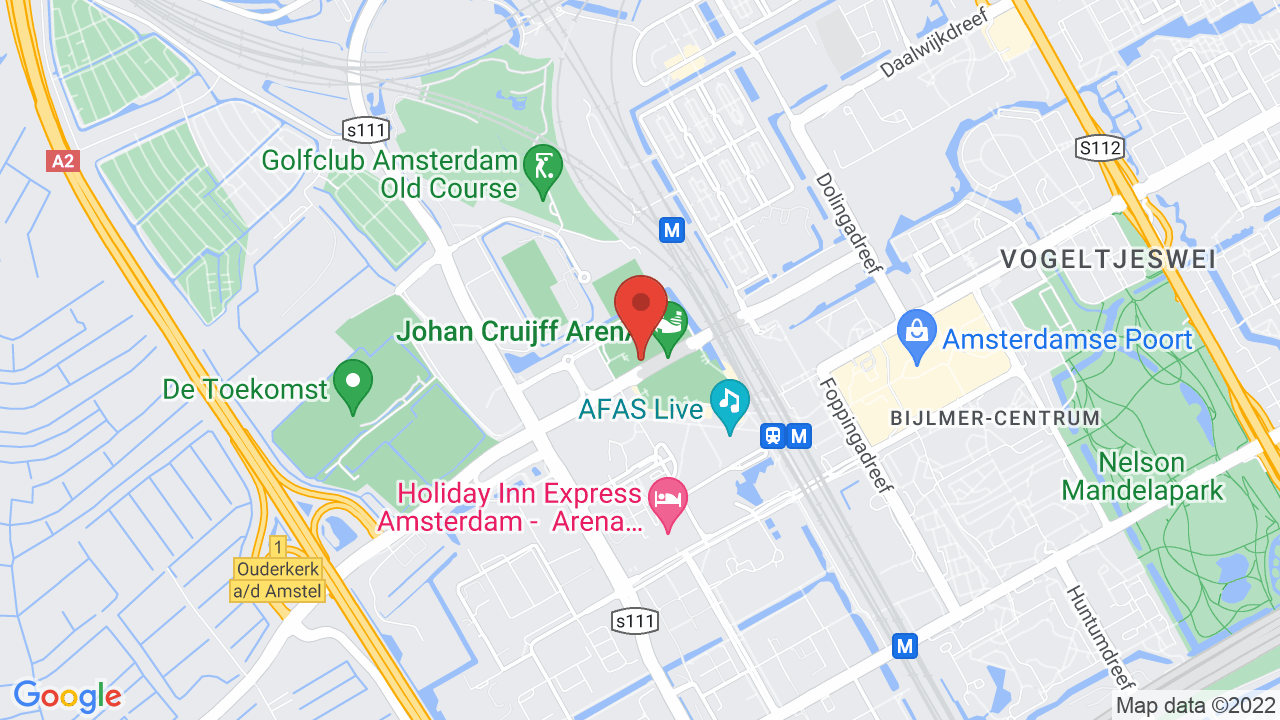 Map for Amsterdam Arena