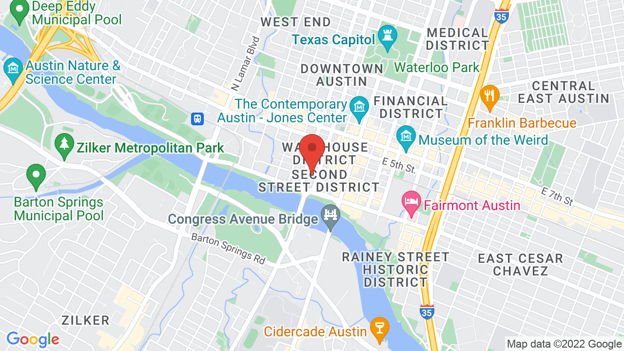 Map for Austin City Limits Live at The Moody Theater