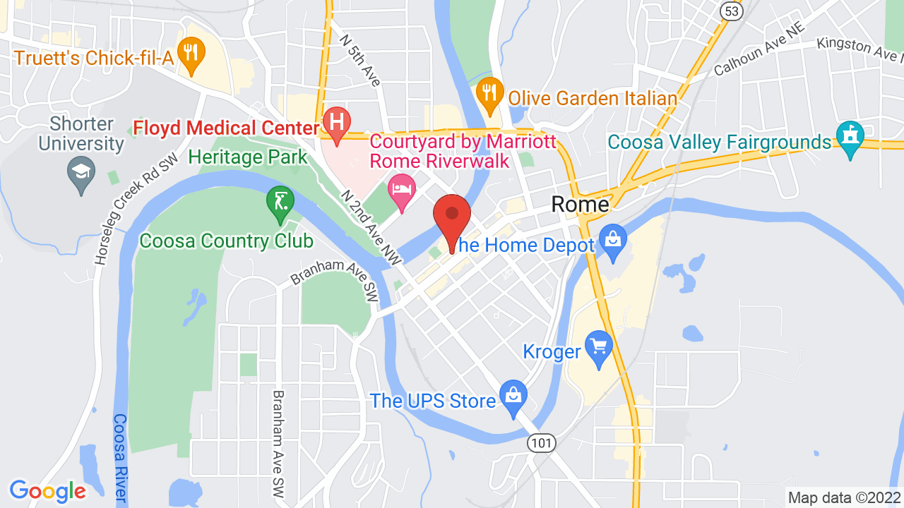 Map for Brewhouse Music & Grill