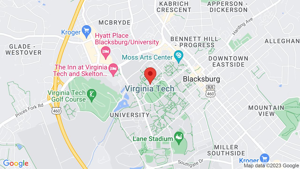 Burruss Auditorium Virginia Tech Shows Tickets Map Directions