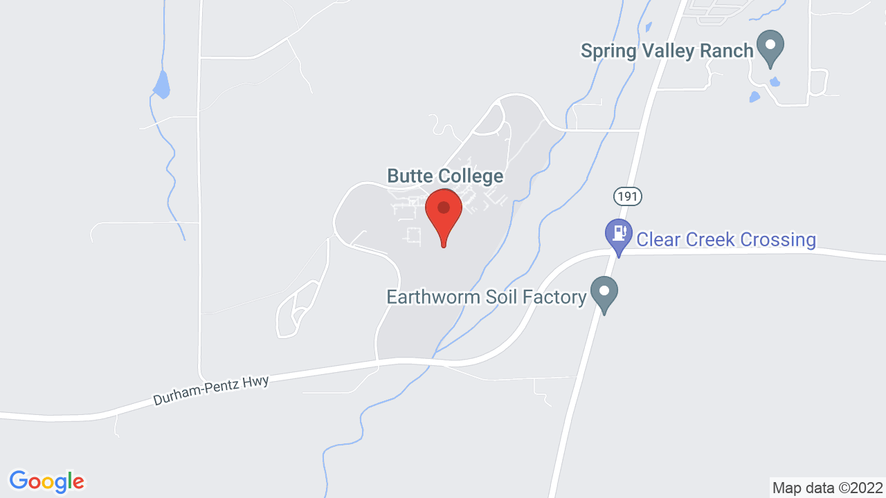 Butte College Main Campus Shows Tickets Map Directions