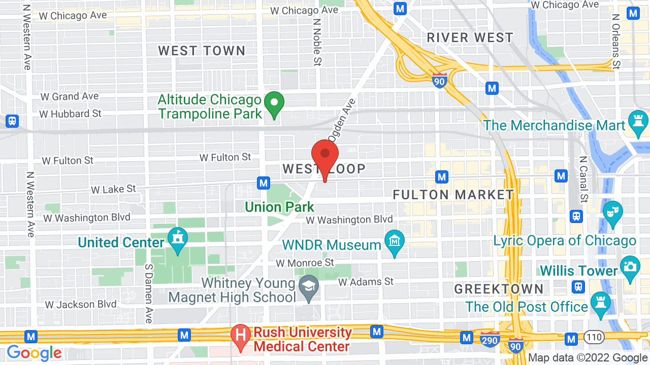 Map for Bottom Lounge