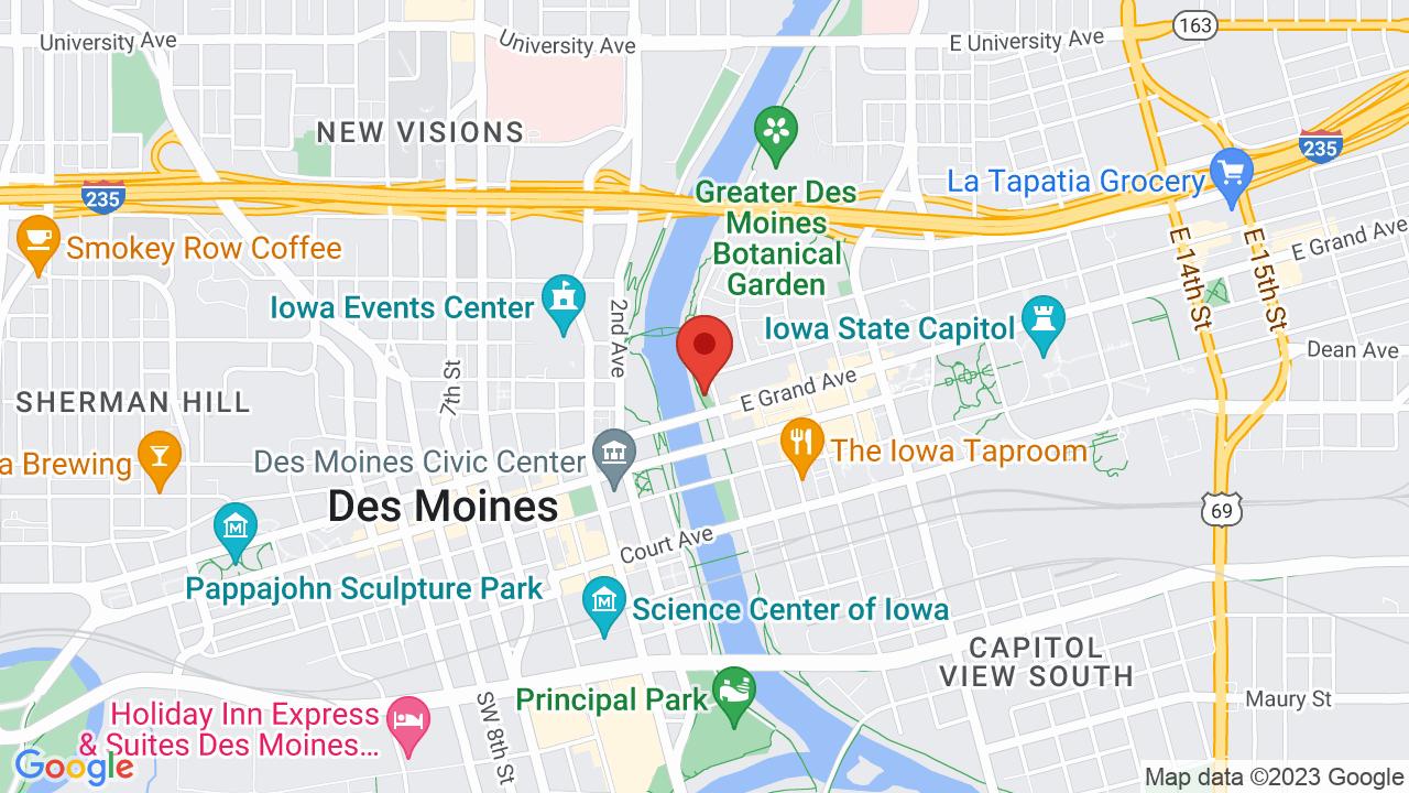 Map for Brenton Skating Plaza
