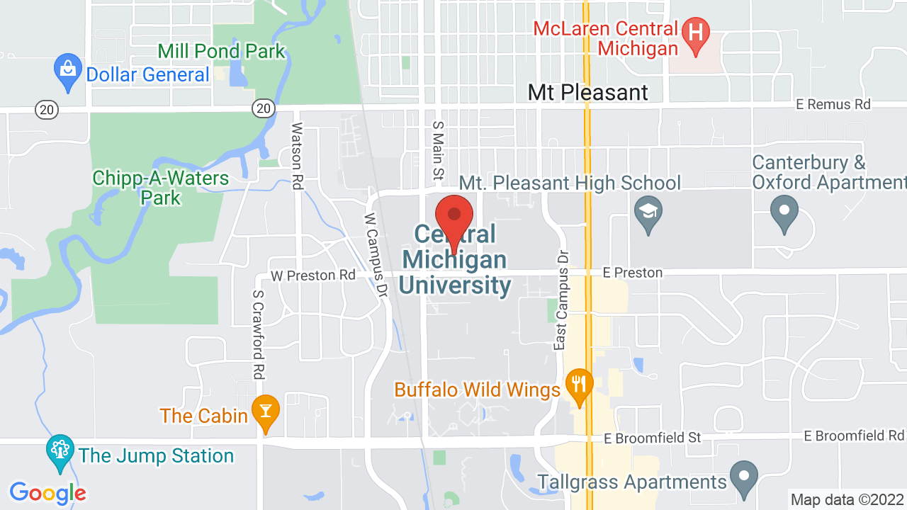Remus Michigan Map.Central Michigan University Shows Tickets Map Directions