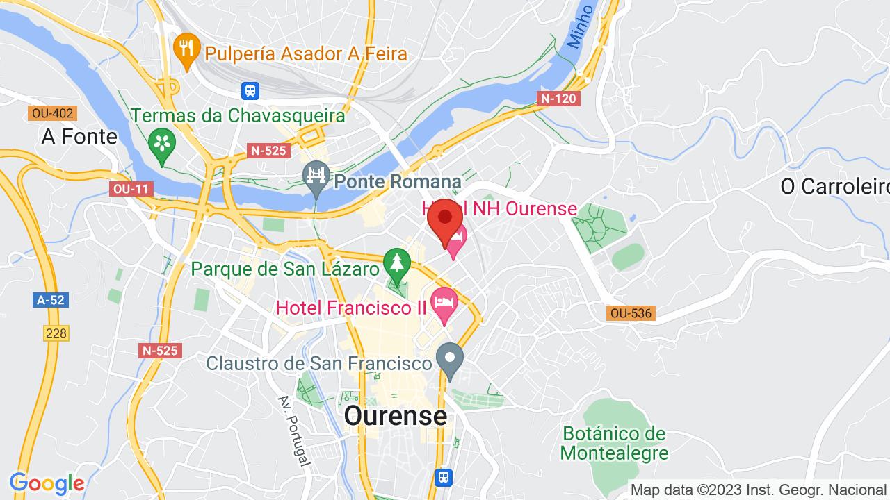 Map for Cafe Torgal