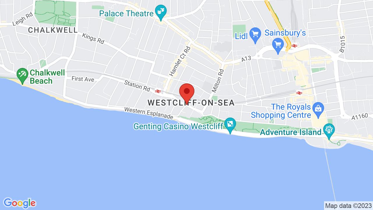 Map for Cliffs Pavilion