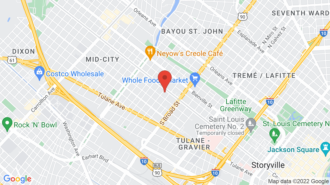 Map for Chickie Wah Wah