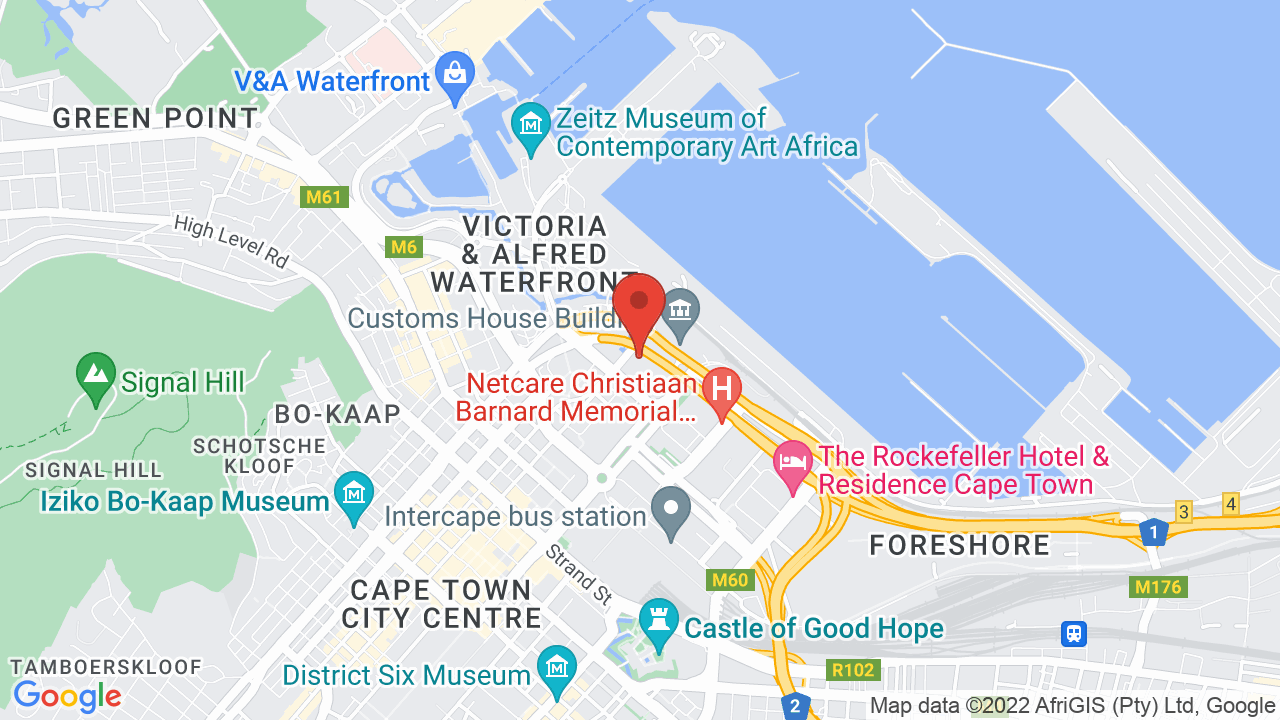 Map for Cape Town International Convention Centre
