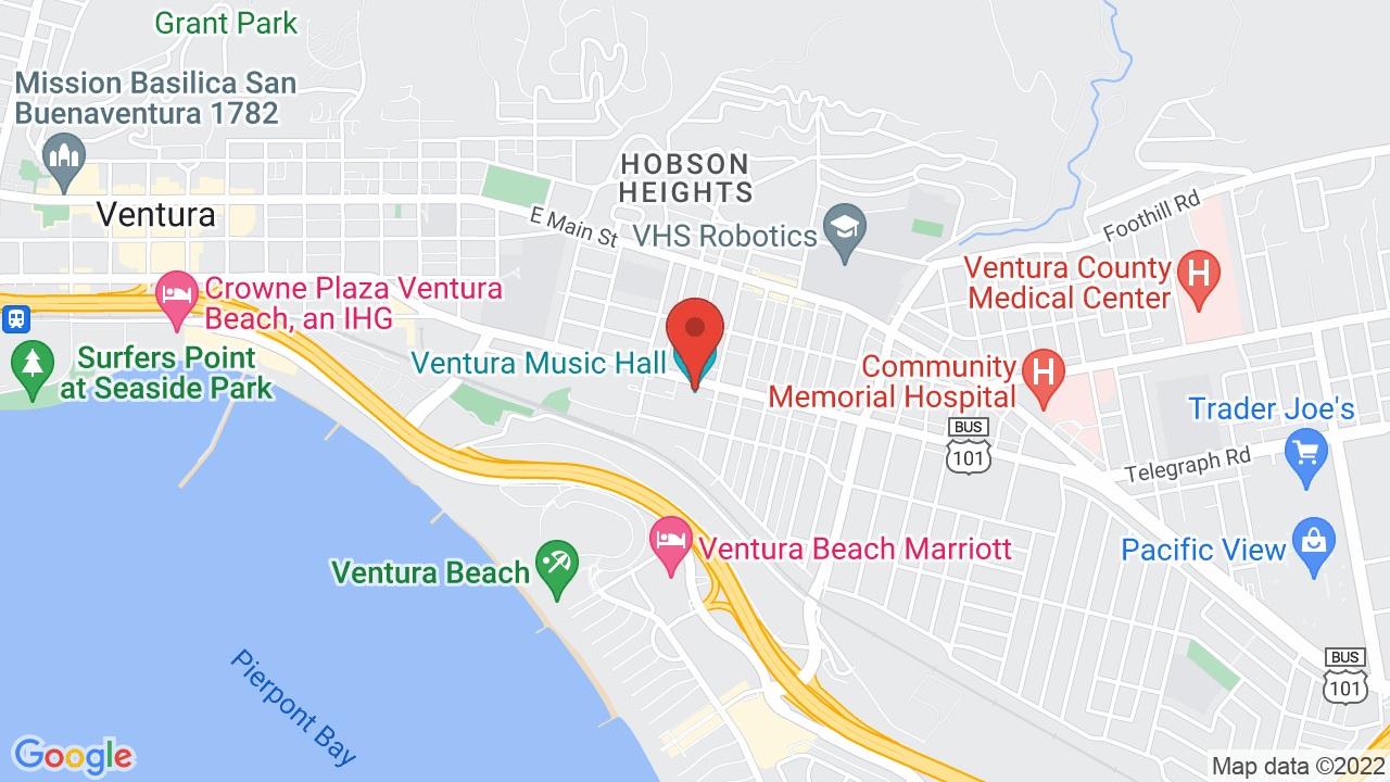 Map for Discovery Ventura
