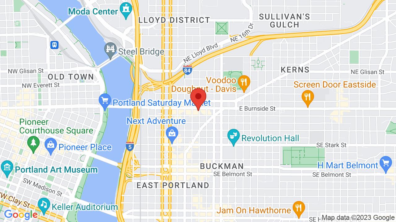 Map for Doug Fir