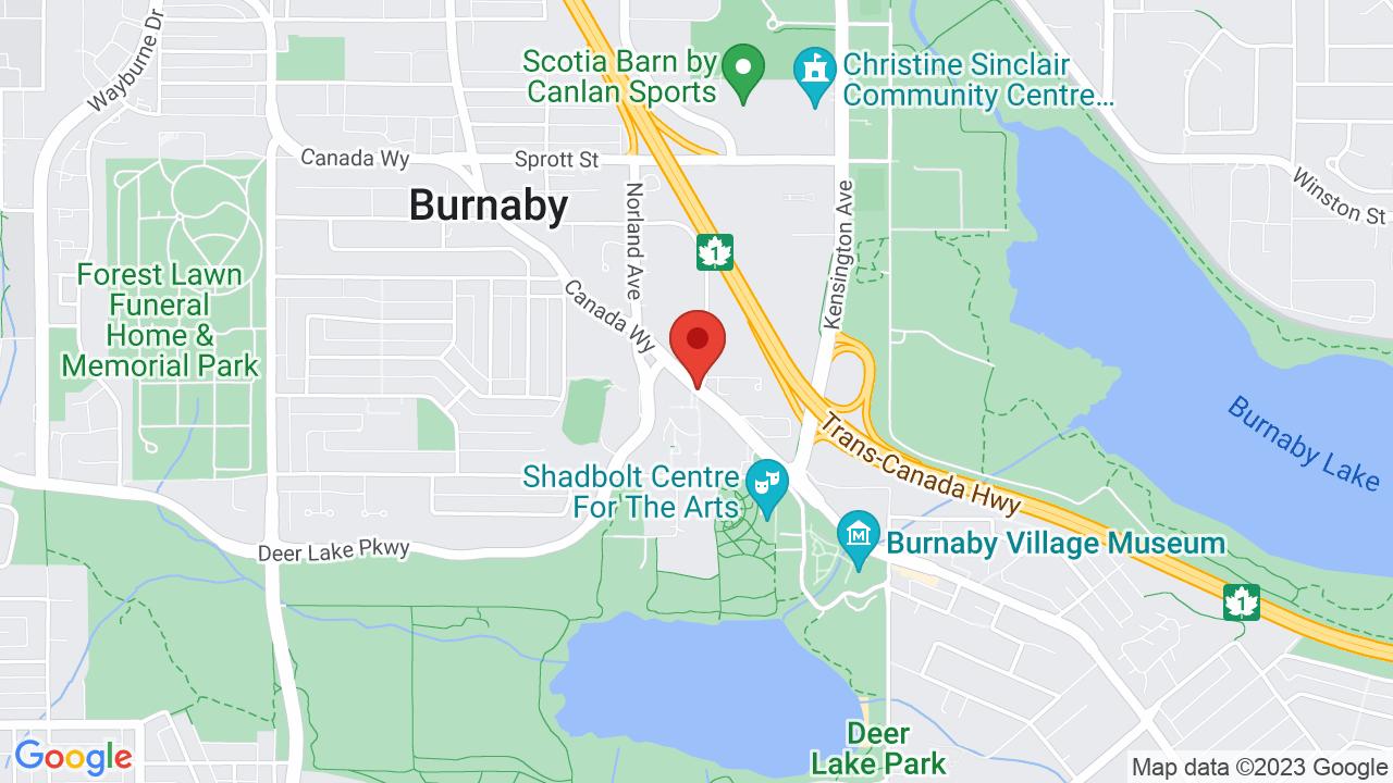 Map for Deer Lake Park