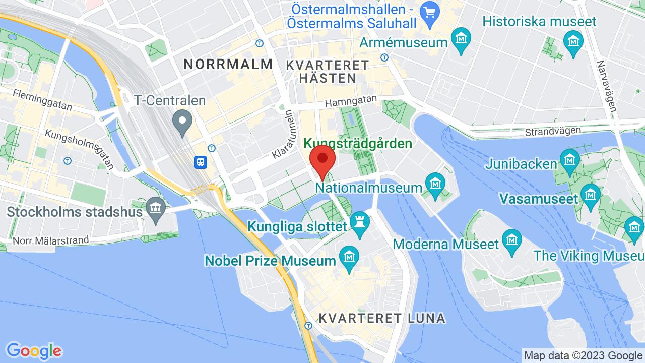 Map for Ericsson Globe