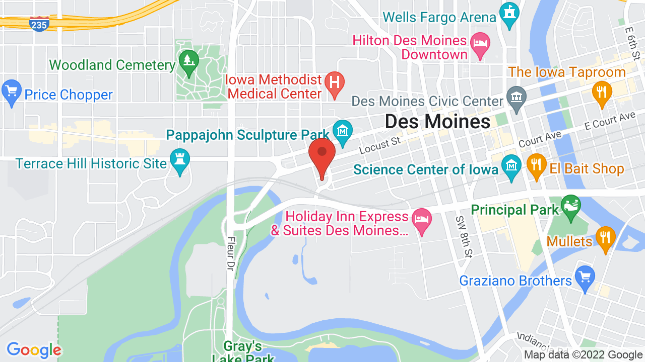 Map for Exile Brewing Company