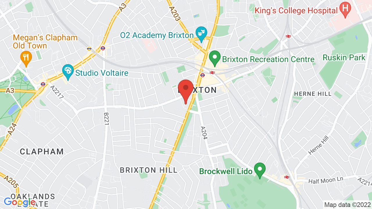 Map for Electric Brixton