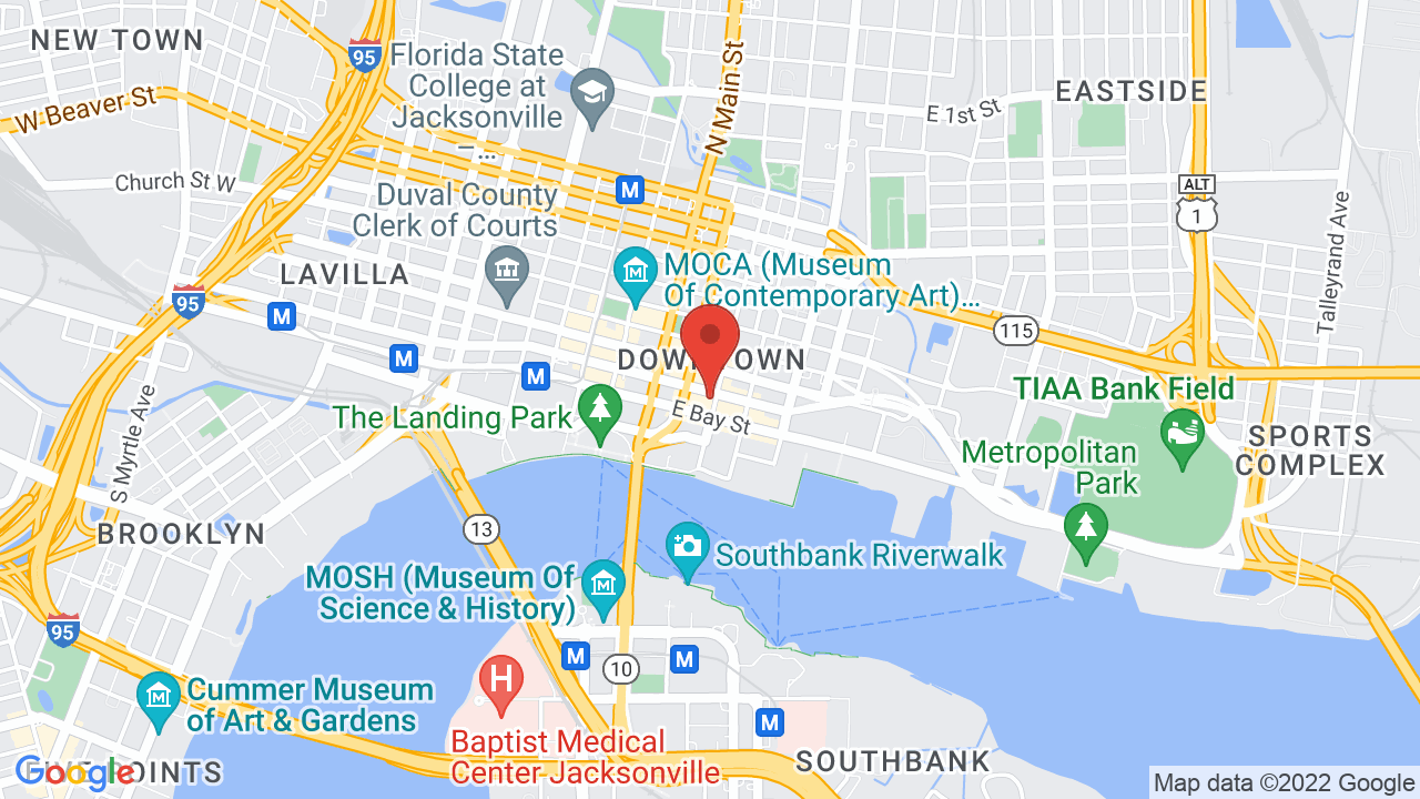 Map for Florida Theatre