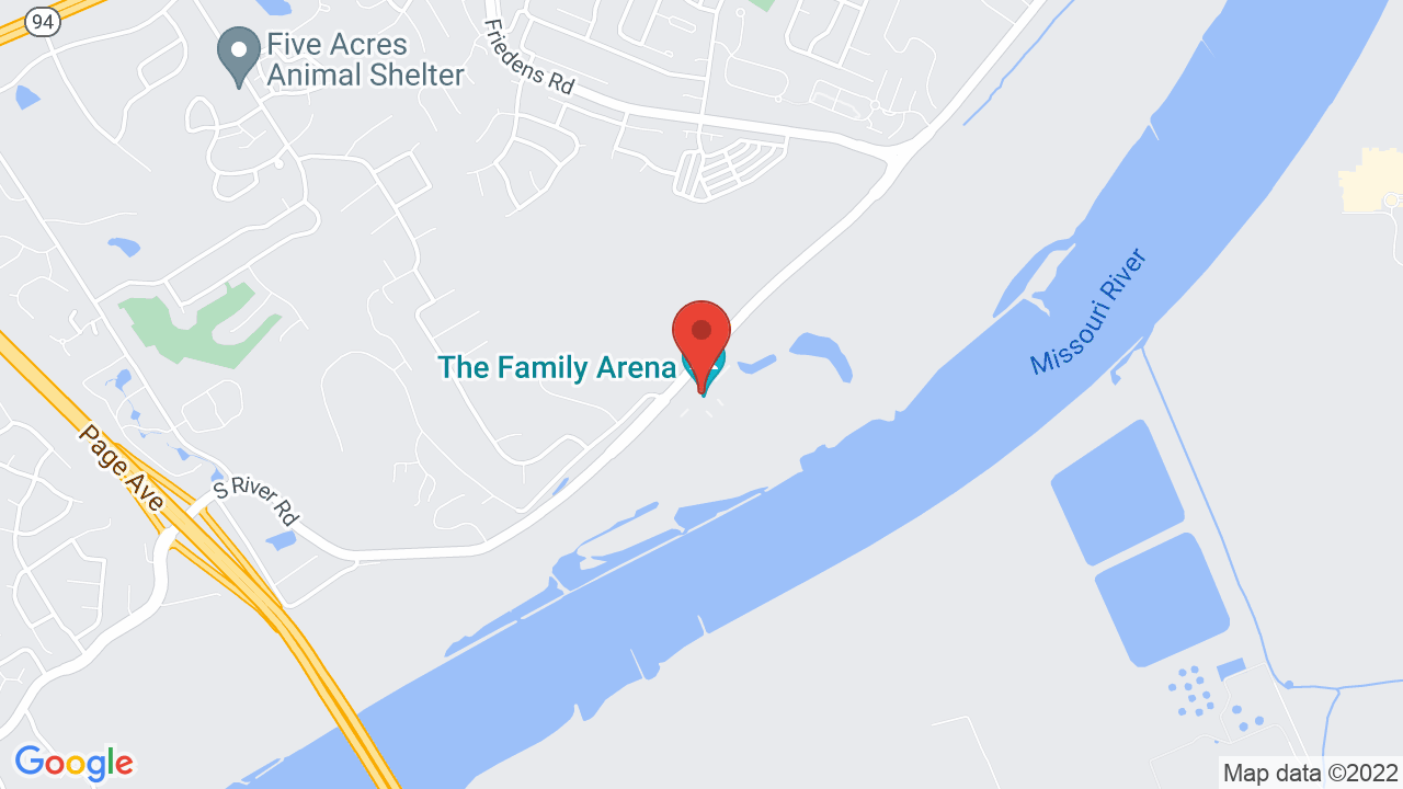 Map for Family Arena
