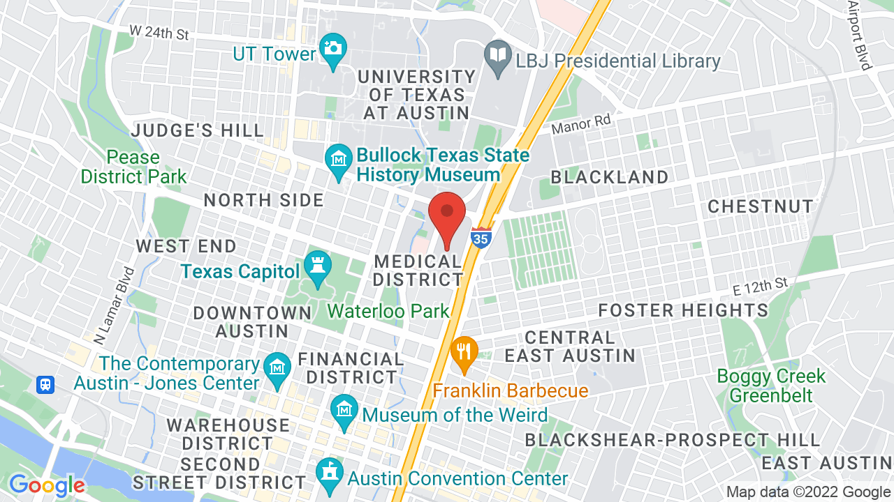 Map for Frank Erwin Center