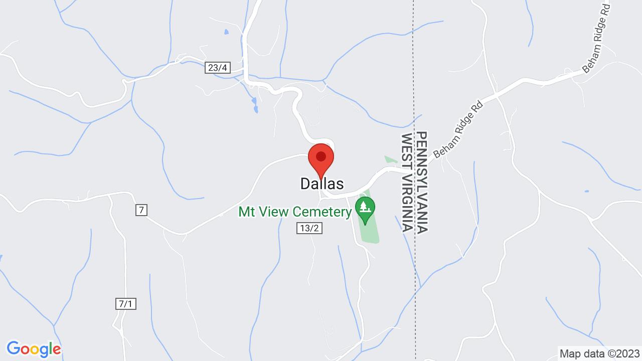 Dallas Va Map on