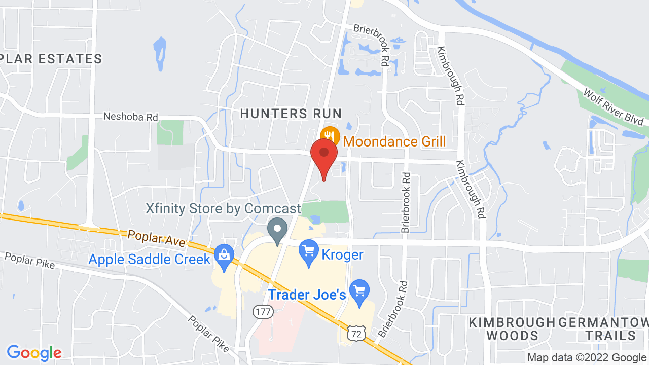 Map for Germantown Performing Arts Center