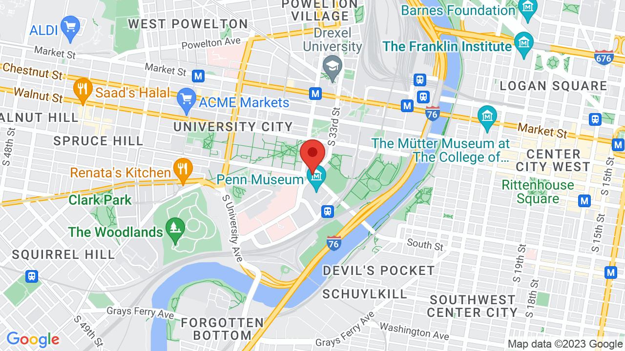 Drexel University Map on