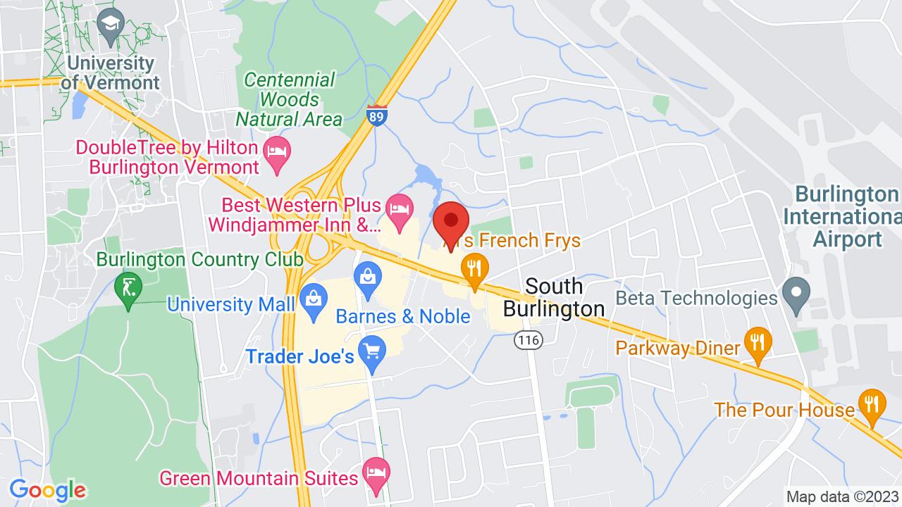 Map for Higher Ground (Ballroom)