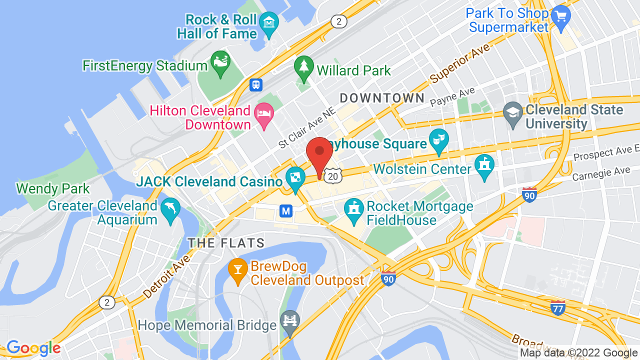 House Of Blues In Cleveland Oh Concerts Tickets Map Directions - Cleveland-us-map