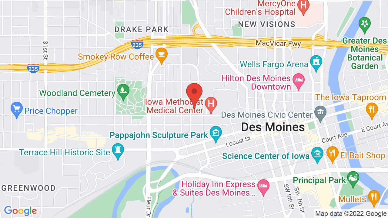 Map for Hoyt Sherman Place
