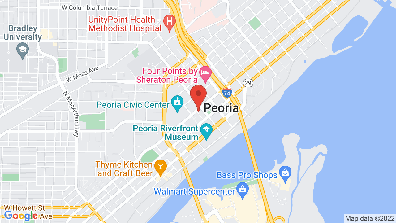 Map for Kenny's Westside Pub