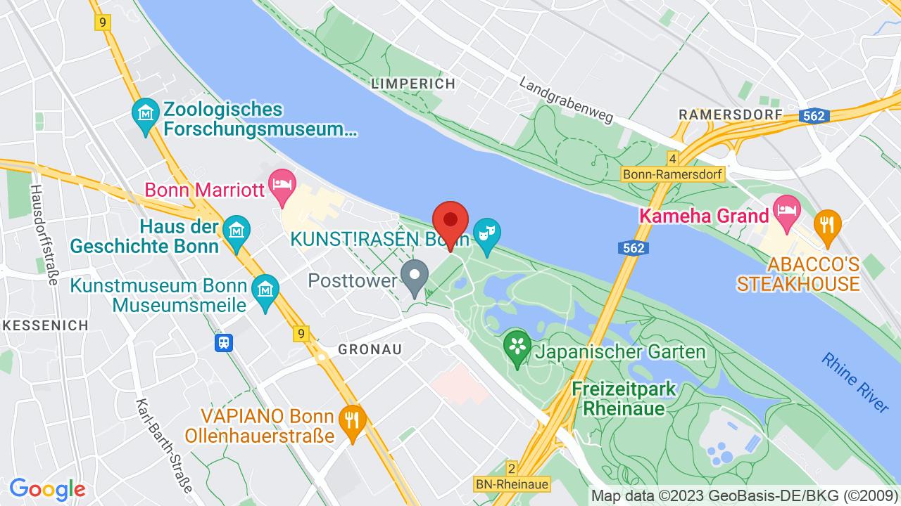 Map for KunstRasen