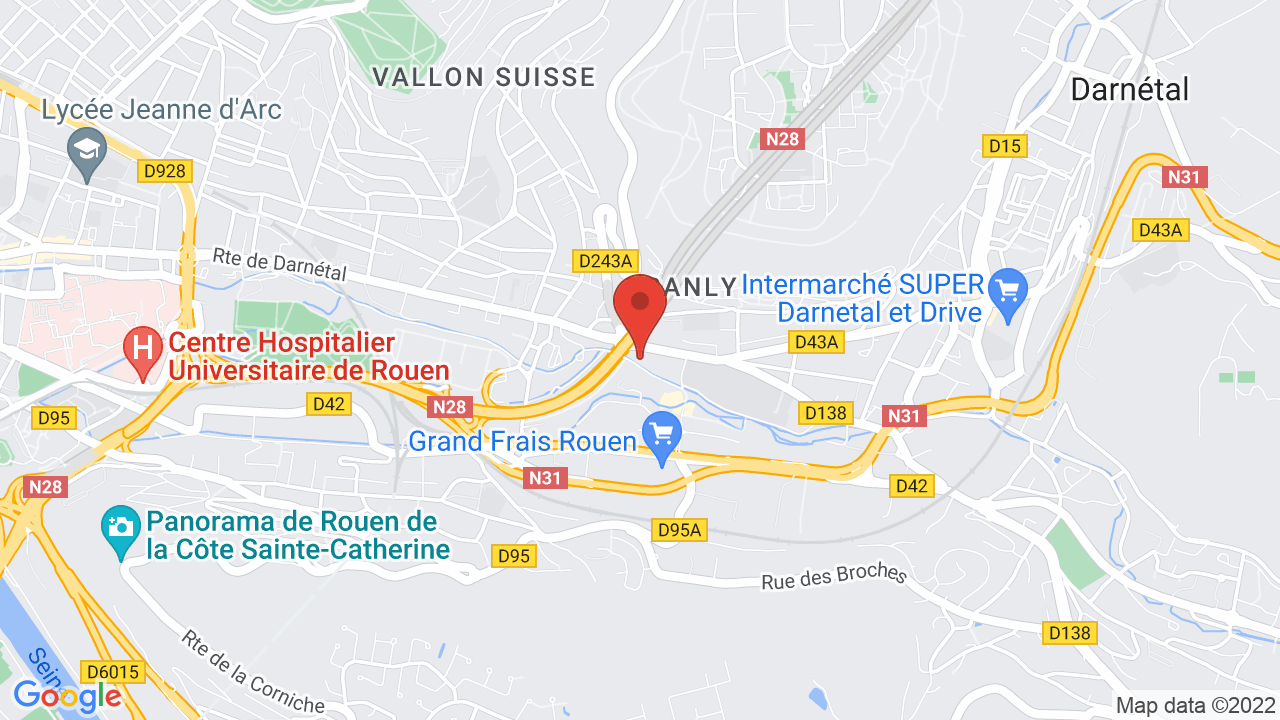 Map for Le Kalif