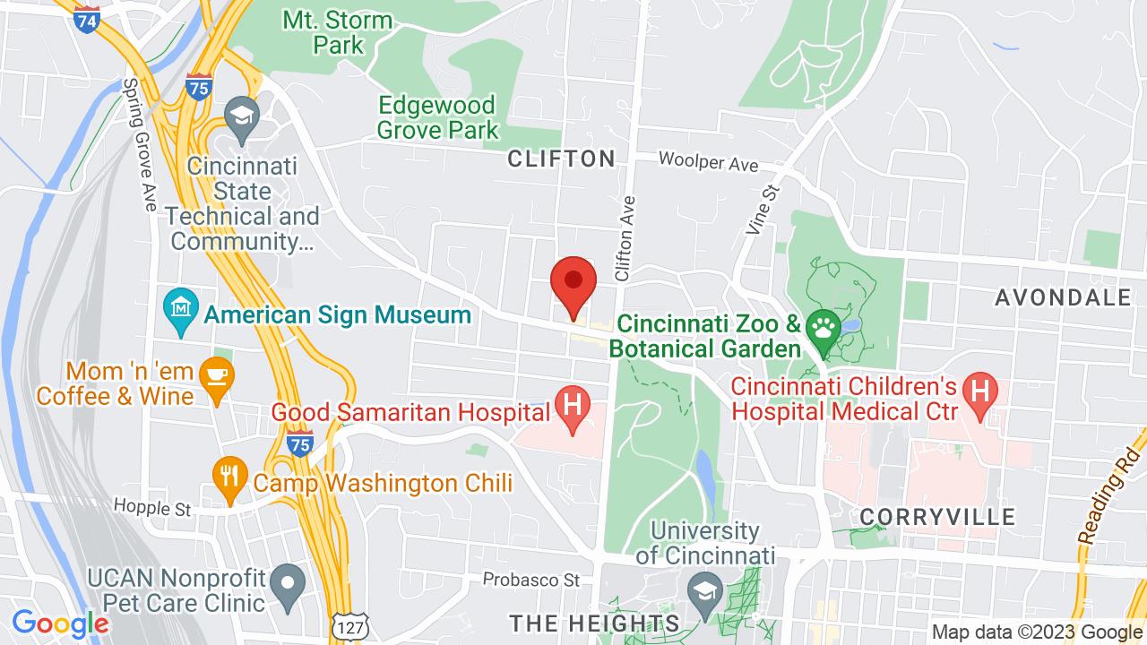 Cincinnati Zoo Map on