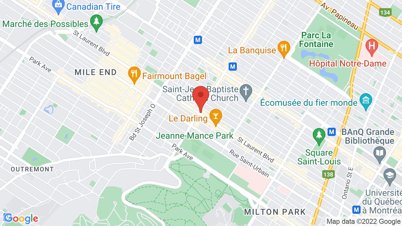 Map for Le Belmont